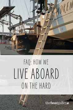 Living on a boat in the air has some tricks. Here's what you need to know. Living On A Boat, Food Storage, Boats, Life, Water, Ideas, Gripe Water, Preserving Food, Ships