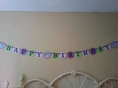 Tiana Princess and the Frog Birthday Banner by PartyExpressions4U