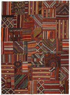 Kilim Patchwork rug NEW_P1337