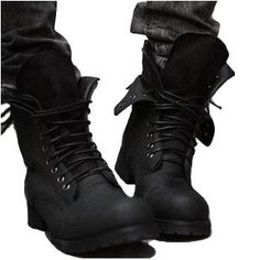 I would kill for these Dior homme biker boots *THESE boots are dope-er. - mens shoes and boots, best mens shoes, mens black dress shoes Leather And Lace, Black Leather, Leather Boots, Leather Sneakers, Leather Men, Denim Boots, Vegan Leather, Suede Leather, All Black Sneakers