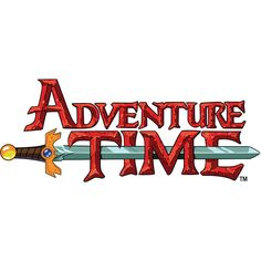 Adventure Time Logo.jpg ❤ liked on Polyvore featuring adventure time, backgrounds, words, fillers, text, quotes, phrase, doodle, saying and scribble