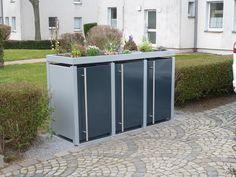 Mülltonnen-Verkleidungen-pulverbeschichtet