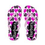 60th Love Pink Flip Flops 60 years old never looked so good with this stylish 60th birthday flip flops. http://www.cafepress.com/jlporiginals/10155641 #60yearsold #Happy60thbirthday #60thbirthdaygift #60thflipflops #Personalized60th #Happy60thflipflops