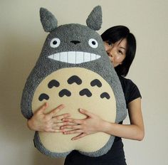 totoro - I think this is the best totoro plush toy I've seen