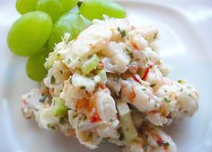 simple shrimp salad i made this last night and it is very easy and good - Ina Garten Shrimp Salad Recipe