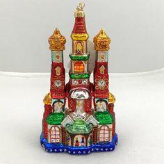 Krakow Christmas Crib Glass Christmas Tree Ornament Handmade | Etsy Polish Folk Art, Glass Christmas Tree Ornaments, Handmade Ornaments, Cribs, Swarovski Crystals, Traditional, Etsy, Holiday Decor, Inspiration