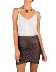 75f07261d93 Lush Clothing - Metallic Goddess Cocktail Dress