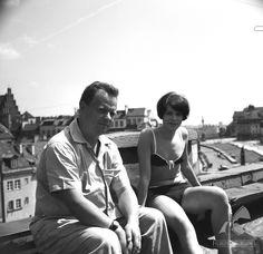 Stare Miasto 1966  #warszawa #warsaw #poland #StareMiasto #bareja #starówka #stolica #panorama Warsaw, Couple Photos, Couples, Red, Vintage, Historia, Couple Shots, Couple Photography, Couple