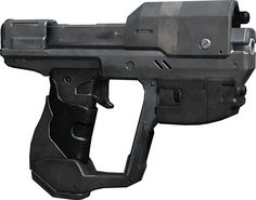 Halo 4 Magnum. the magnum maybe was overpowered a bit in halo 1 but still a cool gun that went on through the halo series as they also made it a lot less powerful in future halo's.