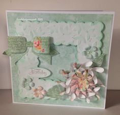 Handmade card. Craftwork Cards Refreshers collection.