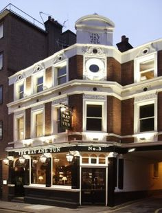 The Hat & Tun - a great pub in Farringdon, highly recommend for a party you might be planning on a weekend