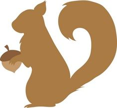 Squirrel Silhouette Clipart Free Clip Art Images