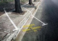 Powerful drink driving awareness poster via JUST™ Creative