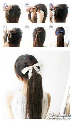 Simple Hair 'Do
