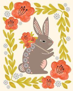 Hillary Bird ~ Pack Rabbit