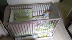 Le lit bébé Nature lin et son tiroir de lit bébé #chambre #écologique #bio #france