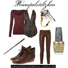 Once Upon A Time: Rumpelstiltskin, created by ohana13.polyvore.com