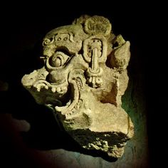 Sculpture of God K in the Tonina Museum Tikal, Aztec Architecture, Maya Civilization, Mayan Cities, Aztec Art, Mesoamerican, Inca, Mayan Ruins, Ancient Art
