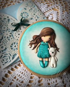 WEBSTA @ mezesmanna - Gorjuss with royal icing #gorjuss #3d #royalicing…