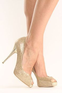 I would be tempted to wear these Jimmy Choo's with everything!