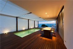 Architecture Design, House V 08 Indoor Swimming Pool In Interior Design Place Arch Lamp Table Chair Lamp: Terrific House V in the Costa Brava by Magma Arquitectura