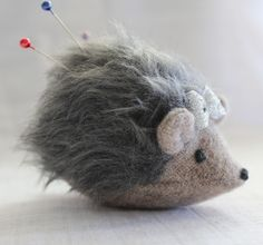 maker*land: Make a hedgehog pincushion - tutorial