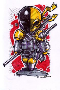 Deathstroke by Dve6 on DeviantArt