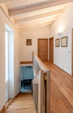 New building - Oberland wooden house- Neubau – Oberland Holzhaus New building – Oberland wooden house - Home, House Styles, Architecture Fashion, House Design, Sweet Home, Loft, Interior, Different Architectural Styles, House Interior