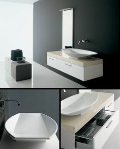 The Line White Basin Cabinet with Marble Top (8B) by Livinghouse is a top quality Contemporary wall hung bathroom wash basin unit produces handy storage space. This is in high gloss white painted finish with a cream stone work top and designer Corian washbasin.