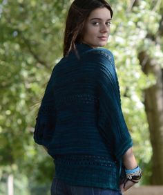 <p>Camari is a butterfly shrug, a perfect step-up project from beginner to intermediate level. While easy to knit, as it is a one rectangular piece it will also challenge you to try lace stitch and working in the round. Designed…</p>
