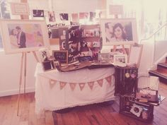 My little stand at the Essex Vintage Wedding Fair - Love That Smile Photography