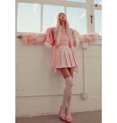 Reebok classic cl nylon pink size 5 #reebok #pink Depop