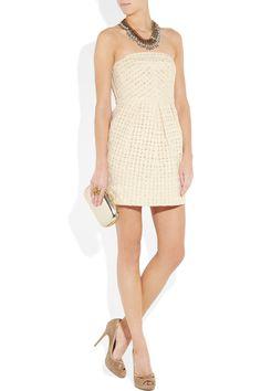 TIBI  Lo Bello crocheted cotton dress