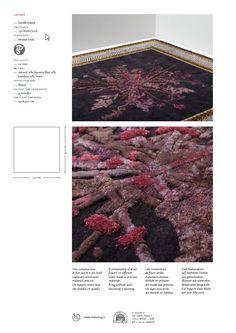 savage flower memories tec #modernrug http://nodusrug.it/it/collezione_tappeti_intro.php