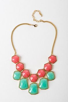 Shop Francesca's: Cook Islands Statement Necklace $26.00 - Spring Fever