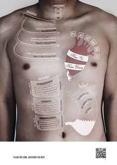 Not come across this before an Anatomic CV! #infographic #CV #resume
