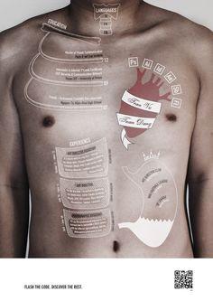 #Curriculum Anatomico   Infographics in real life #infografia #empleo https://erafbadia.blogspot.com/  @erafbadia