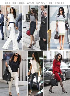 Amal Clooney (Dramatic Classic) - best looks | Sun Ethereal, Royal Ethereal, French Ethereal and Wind Ethereal