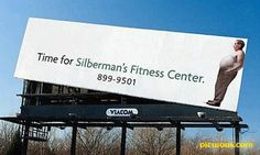 Billboard Ad for a fitness center