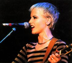 Classic Pixcessory... the striped shirt! Dolores O'Riordan, The Cranberries