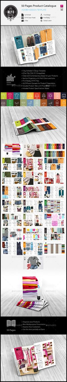 50 Pages Product Catalogue Template