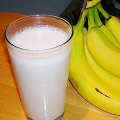Banana, honey and nutmeg are blended with milk in this healthy smoothie. Soy milk can be used if you prefer. Milk Cans, Soy Milk, Healthy Smoothies, Allrecipes, Glass Of Milk, Vegetarian, Banana, Sweet, Drink