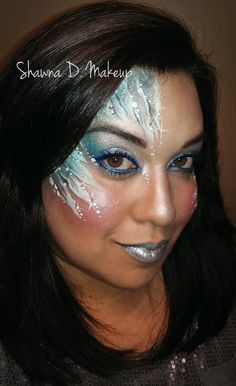 Frozen face painting tutorial