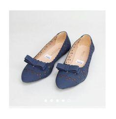 Sepatu Wanita · Flat Shoes Gratica Biru 336e5b6213