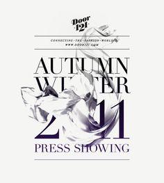 Door121 Autumn/Winter 2011 Press Showing by Toben , via Behance