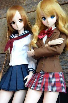 Smart Doll Mirai Suenaga and Kizuna Yumeno by Shizusan23