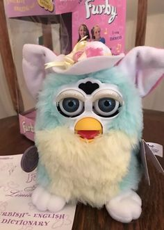 ff5b36a4c1a Special Spring Edition Furby Animal Tiger Toy Pink Blue Hat Donation To  Charity