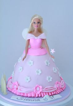 Blissfully Sweet: Princess Barbie Birthday Cake