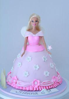 Princess Barbie Birthday Cake