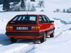 Audi 100 quattro Avant (C3) '1982–87